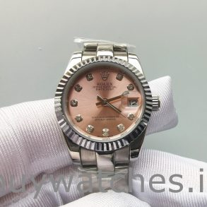 Rolex Datejust 178271 Midsize Steel Eve Gold Diamond damklocka