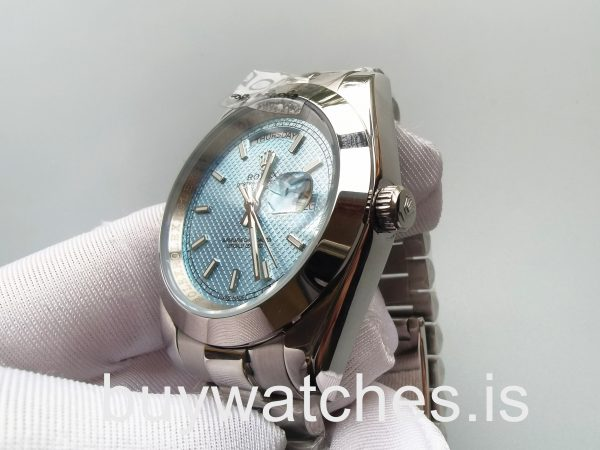 Rolex Day-Date 228206 Mans 40 Mm Blue Dial Style Automatic Steel Watch